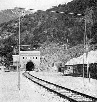 Simplon Tunnel - Simplon Tunnel, 1906