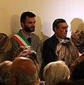 Sindaco e vescovo di prato all'inaugurazione della mostra legati da una cintola, 7 settembre 2017.jpg
