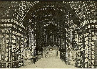 Nibbia Chapel - The Chapel of Bones