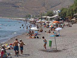 Skala Eresou beach