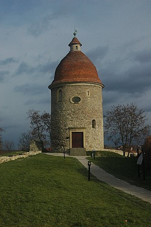 Skalica - The Romanesque St. George rotunda is the oldest building in the town