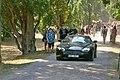 Skotské hry Sychrov 2018 - britské automobily, Aston Martin.jpg
