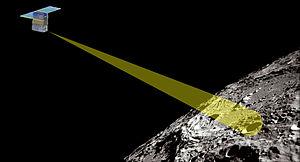 SkyFire (spacecraft) - Image: Sky Fire lunar Cube Sat
