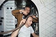 Skylab 3 haircut