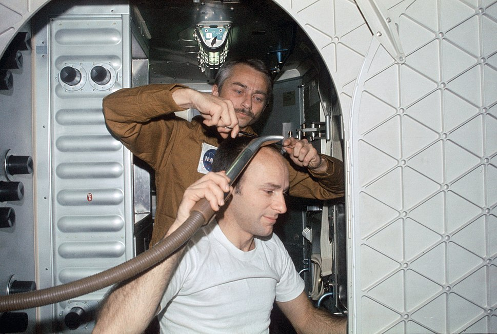 Skylab 3 haircut
