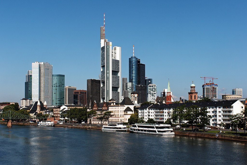 Frankfurt am Main Germany  City new picture : Skyline of Frankfurt am Main, Germany
