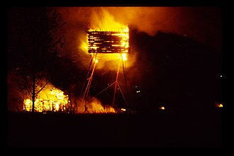 Marco Casagrande - Burning of Land(e)scape, 1999