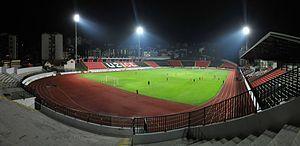 FK Sloboda Užice - Image: Sloboda Užice stadium
