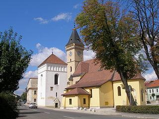 Sabinov Town in Slovakia