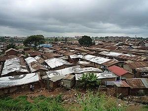 Underdevelopment - Slum in Kibera, Kenya (2010)