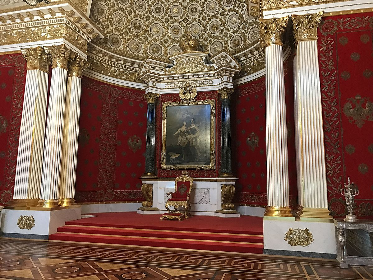 Small Throne Room of the Winter Palace - Wikipedia