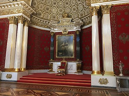 Throne Room 440px-Small_Throne_Room_of_the_Winter_Palace