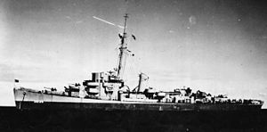 USS Frederick C. Davis (DE-136) - Participating in Operation Teardrop in the spring of 1945