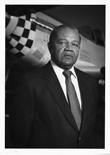 Louis Purnell Curator at the National Air and Space Museum, decorated Tuskegee Airman during World War II.