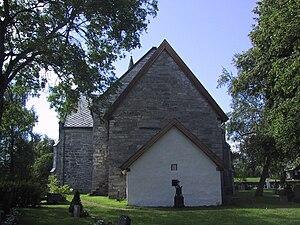 Snåsa Church - Image: Snaasa kyrkje