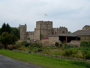 John Neville, 4th Baron Latimer - Snape Castle, seat of the Barons Latimer