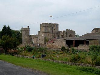 John Neville, 4th Baron Latimer - Snape Castle, seat of the Barons Latimer