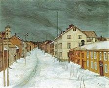 Sohlberg-Storgaten Røros 1904