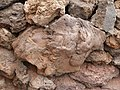 Solidified lava - stone in a wall - Timanfaya national park - Lanzarote - 04.jpg