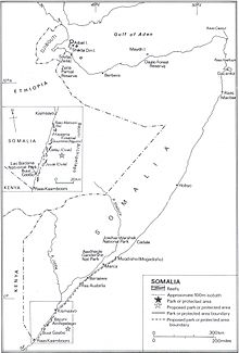 Somalia S Coral Reefs Ecological Parks And Protected Areas