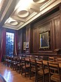 Somerville College Oxford, Hall, High Table.jpg