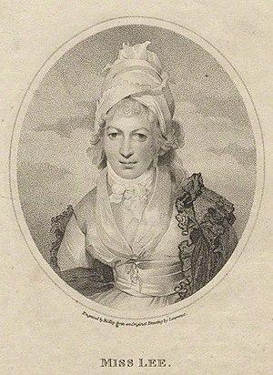 Sophia Lee - Sophia Lee, 1797 engraving