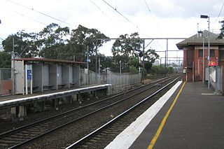 South Kensington railway station railway station in Kensington/West Melbourne, Melbourne, Victoria, Australia