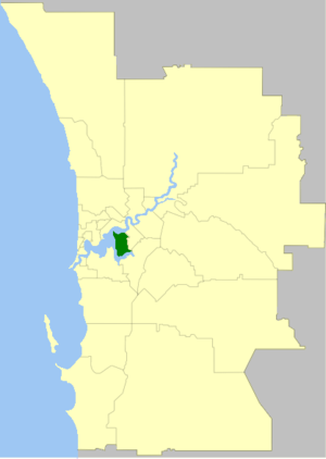 City of South Perth - Image: South Perth LGA WA
