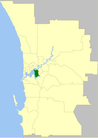 City of South Perth - Image: South Perth LGA WA