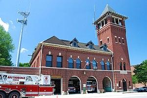 Elm Street Fire House - Image: Southbridge Fire Station