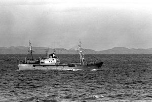 Soviet Okean class intelligence collection ship LINZA.JPEG