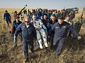 Soyuz TMA-08M Alexander Misurkin shortly after landing.jpg