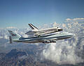 Space Shuttle Discovery Catches a Ride by Lori Losey NASA, August 19, 2005 (NASA).jpg