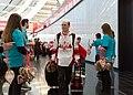 Special Olympics World Winter Games 2017 arrivals Vienna - Canada 06.jpg