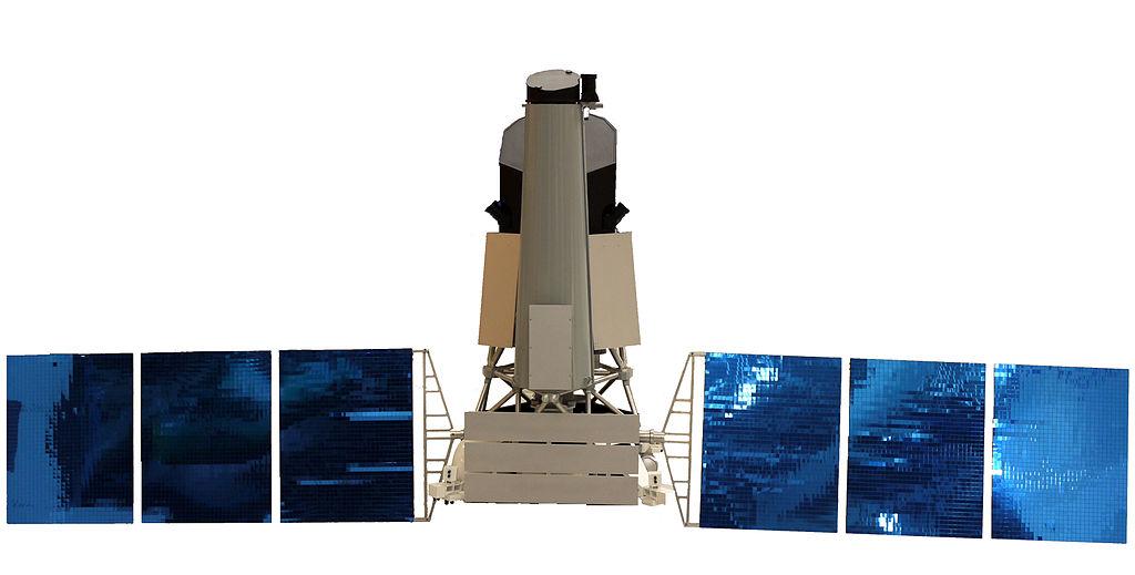 Spektr-RG russian X-ray space telescope P1110968.jpg
