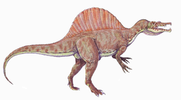 Динозавры и Мир Юрского Периода №13 - Папа-Спинозавр