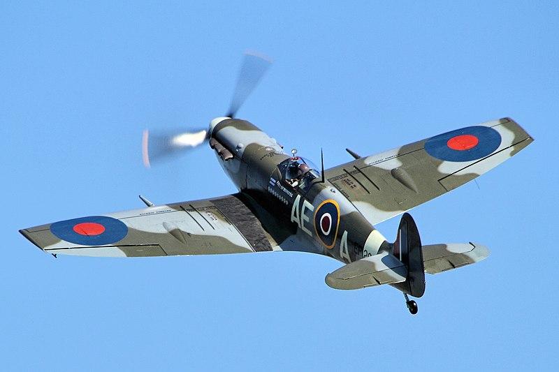 Supermarine Spitfire, en Duxford (Reino Unido).