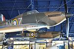 Spitfire Ia 'P9444' & Hurricane I 'L1592' – Science Museum, London (19193393041).jpg
