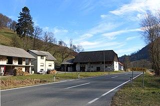 Spodnje Loke Place in Upper Carniola, Slovenia