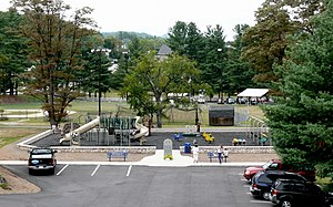 Spruce Pine, North Carolina - Community park in Spruce Pine.