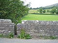 Squeeze stile, north west side of Church Bridge - geograph.org.uk - 1382686.jpg