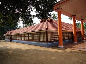 Kurumbakkavu Bhagavathy Temple Edathala - Sree Kurumbakkavu Bhagavathi Temple side view