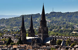 Diocese of Edinburgh - St. Mary's, the Episcopal cathedral from 1879