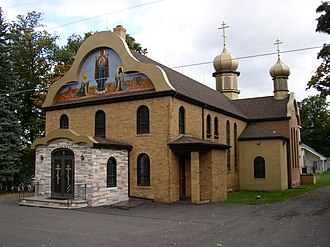 Eastern Orthodoxy in North America - St. Tikhon's Orthodox Monastery in South Canaan, Pennsylvania