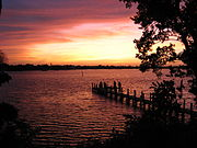 St. lucie river from sp