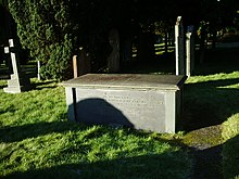 St Kentigern's Parish Church, Crosthwaite, Keswick, Grave of Robert Southey - geograph.org.uk - 638342.jpg