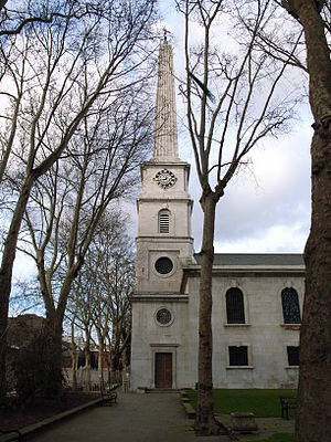 John James (architect) - Image: St Lukes Islington