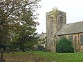 St Martin of Tours, Bilborough - the tower and part of the churchyard - geograph.org.uk - 606880.jpg
