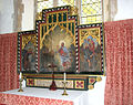 St Marys church in Anmer - south chapel altar (reredos) (geograph 1937272).jpg