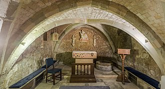 St Olave Hart Street - Image: St Olave Hart Street Church Crypt, London, UK Diliff